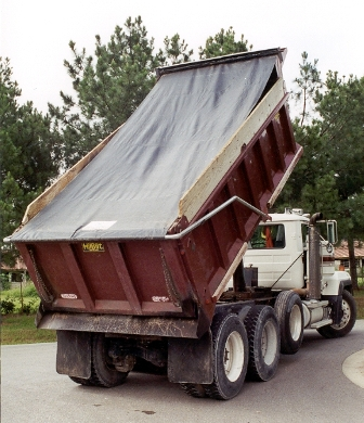 7' 6 x 16' Asphalt Tarp, Replacement Hot Asphalt Tarp