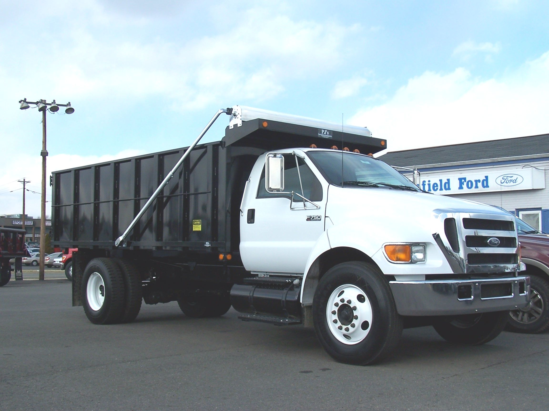 USTarp Polished Aluminum Dump Truck Tarp System, 3 spring external Mount, bodies up to 12'
