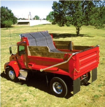 High Temperature Asphalt Tarps Dump Trucks & Dump Trailers - Straight Tarps no Flaps