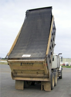 7' x 12' Heavy Duty Mesh Dump Truck Replacement Tarp